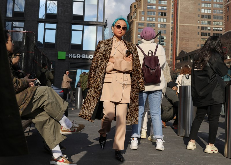 22 Must-See Street Style Outfits From NYFW Fall 2020 Shows