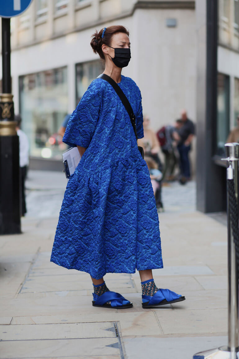 Top 12 Street Style Outfits From London Fashion Week Spring 2021