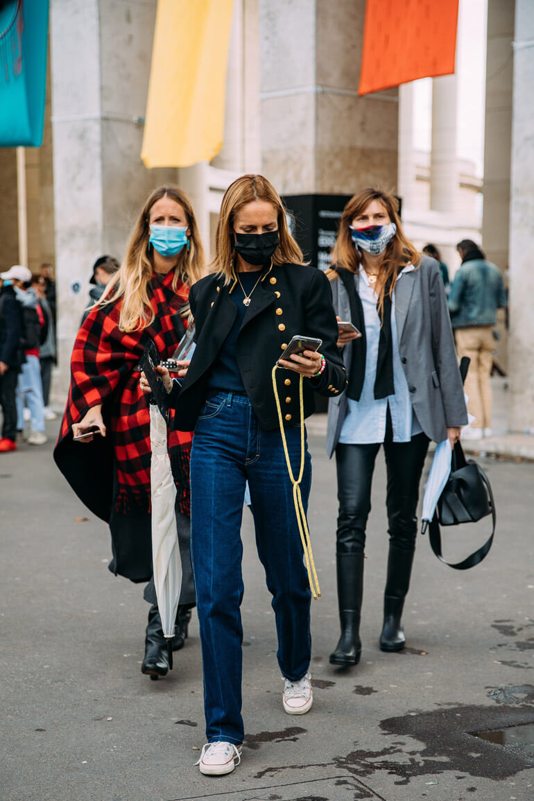 Top 25 Street Style Outfits From Paris Fashion Week Spring 2021