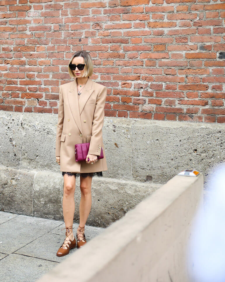 Top 30 Street Style Outifts From Milan Fashion Week Spring 2021