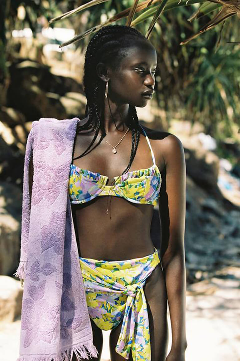 For Floral Swimwear, This For Love & Lemons Collection Delivers in Spades