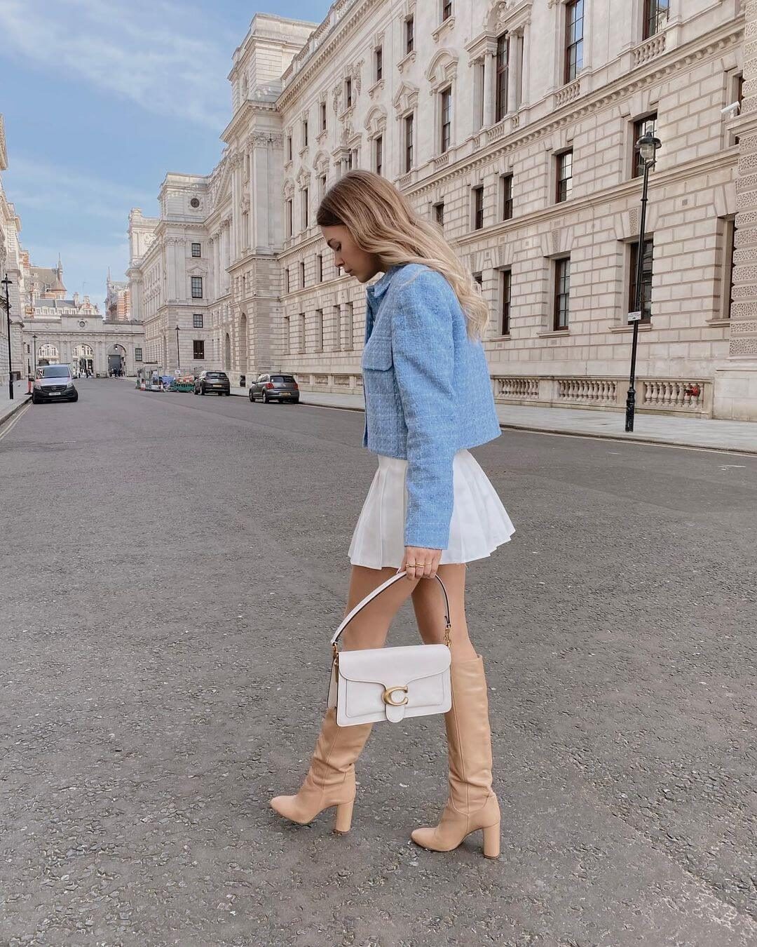 The Stylish 3-Piece Transitional Outfit To Try Before Spring