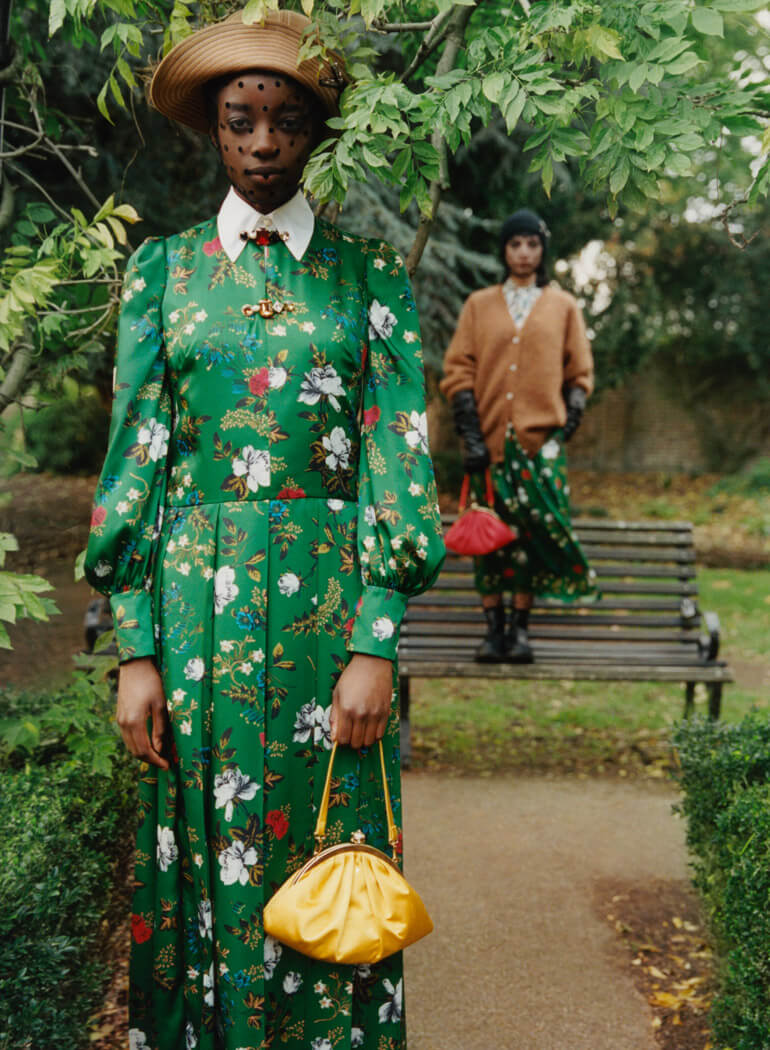Allow Yourself To Fall In Love With Classic, Feminine Style In Erdem's Pre-Fall '21 Collection