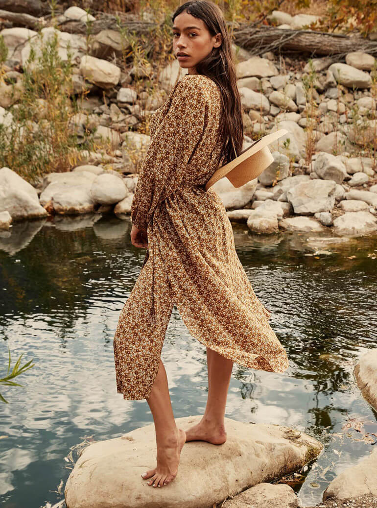 Relaxed Femininity At Its Best From Doen Spring 2021 Collection