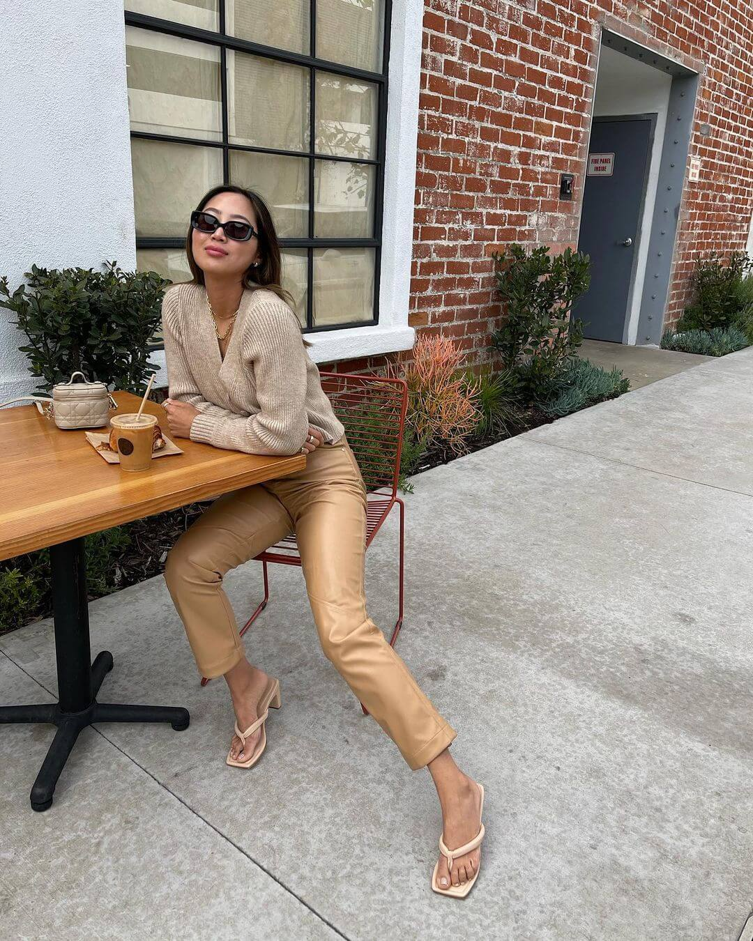 Elevate Your Look Instantly With A Head-to-Toe Beige Outfit