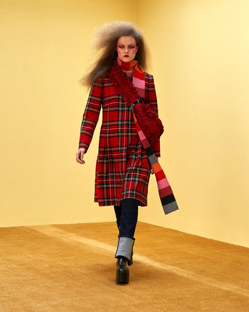 Fall Style Just Got A Lot More Dramatic With Molly Goddard