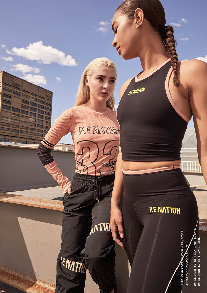 Upgrade Your Sportwear Collection With Designs From P.E Nation