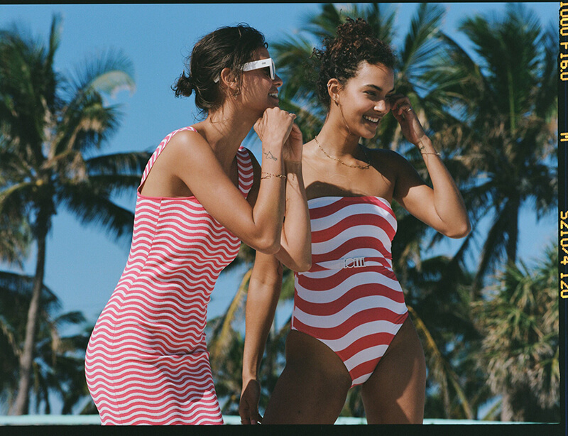 Show Up To The Beach In Style With Solid & Striped SS21 Collection