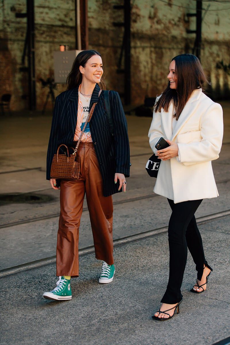 Our Favorite 23 Street Style Outfits From Sydney Fashion Week Resort 2022 Shows