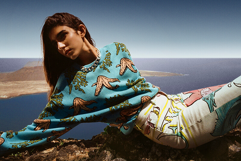 Take A Dive Into Fiorucci's Marine Life Inspired Cosmic Waters Collection