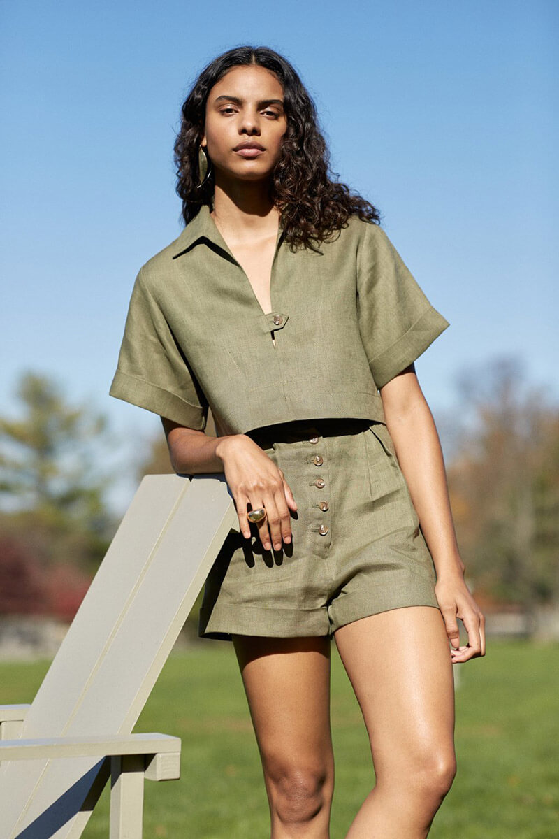 Look Chic 24/7 With High Summer 2021 Pieces From Matthew Bruch