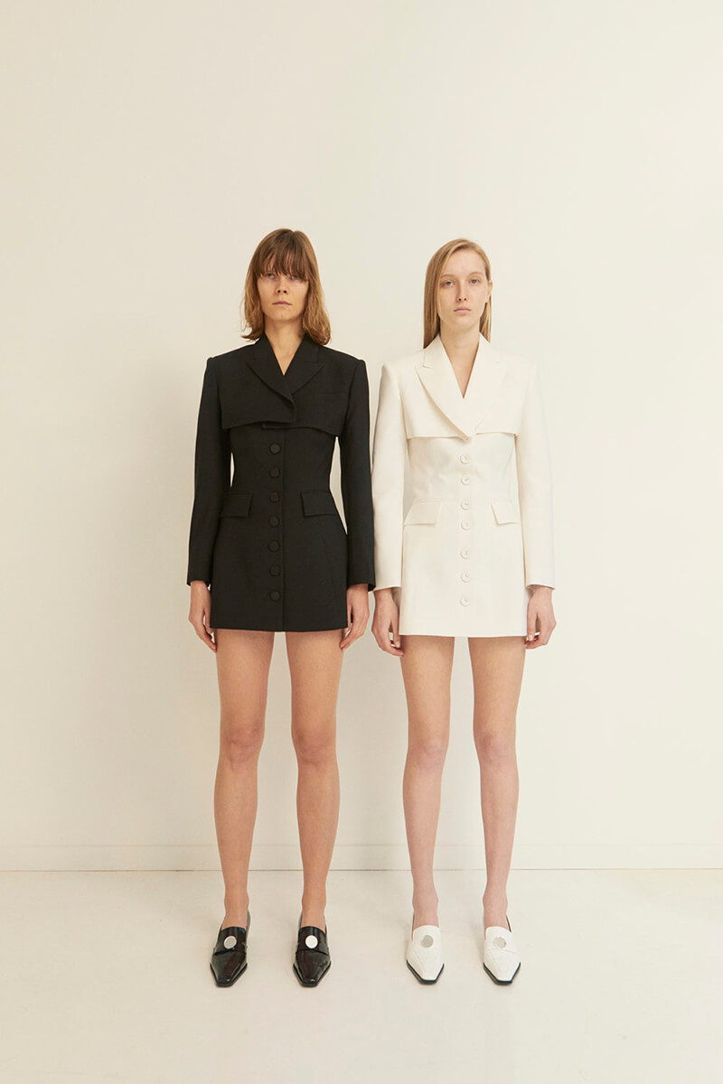 Contrasting Details Shine Bright In This Collection From KIMHEKIM
