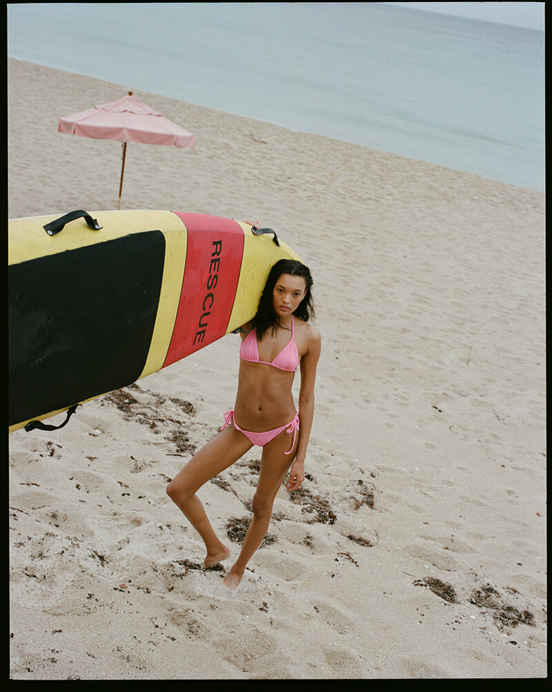 Bring Some Color To The Beach With Playful Swimwear From Solid and Striped