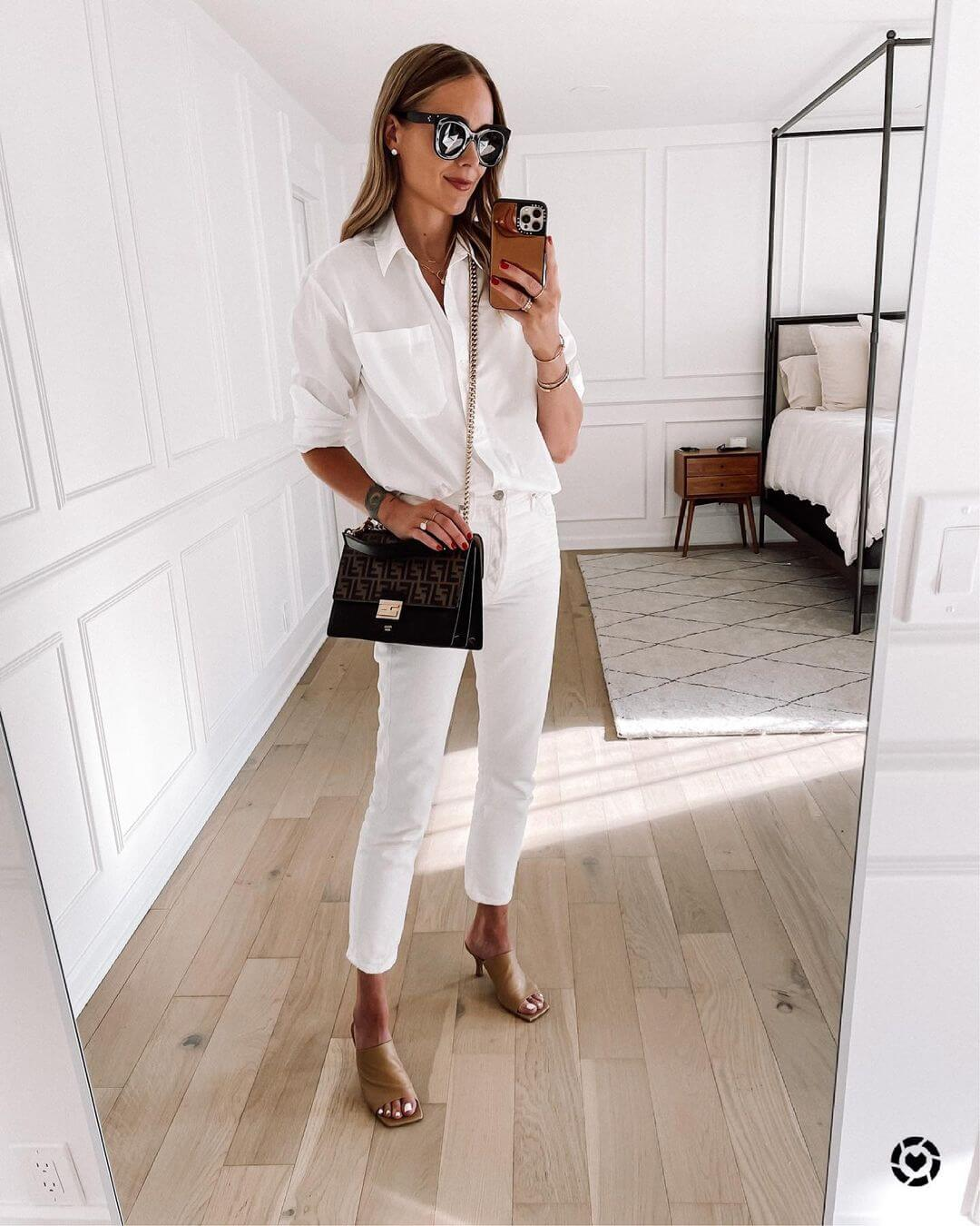10 Fresh Ways To Wear White Denim All Summer Long