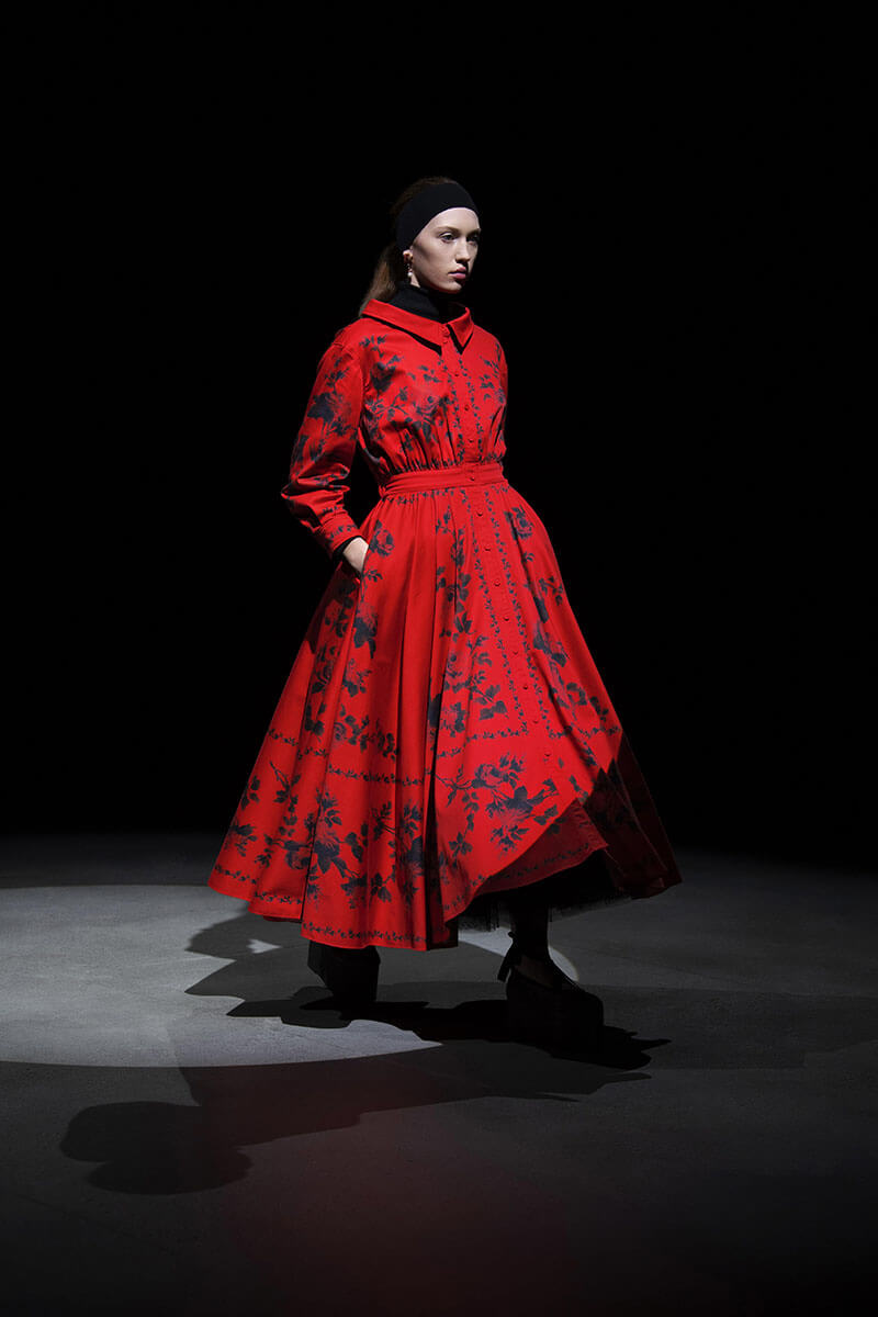 Feminine Elegance Is Impossible To Resist In Erdem's AW21 Collection
