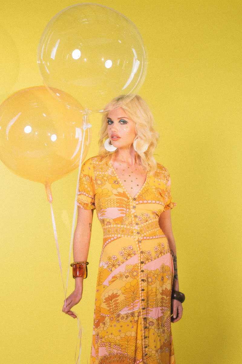 Take A Technicolour Trip To Yesteryear With Nine Lives Bazaar