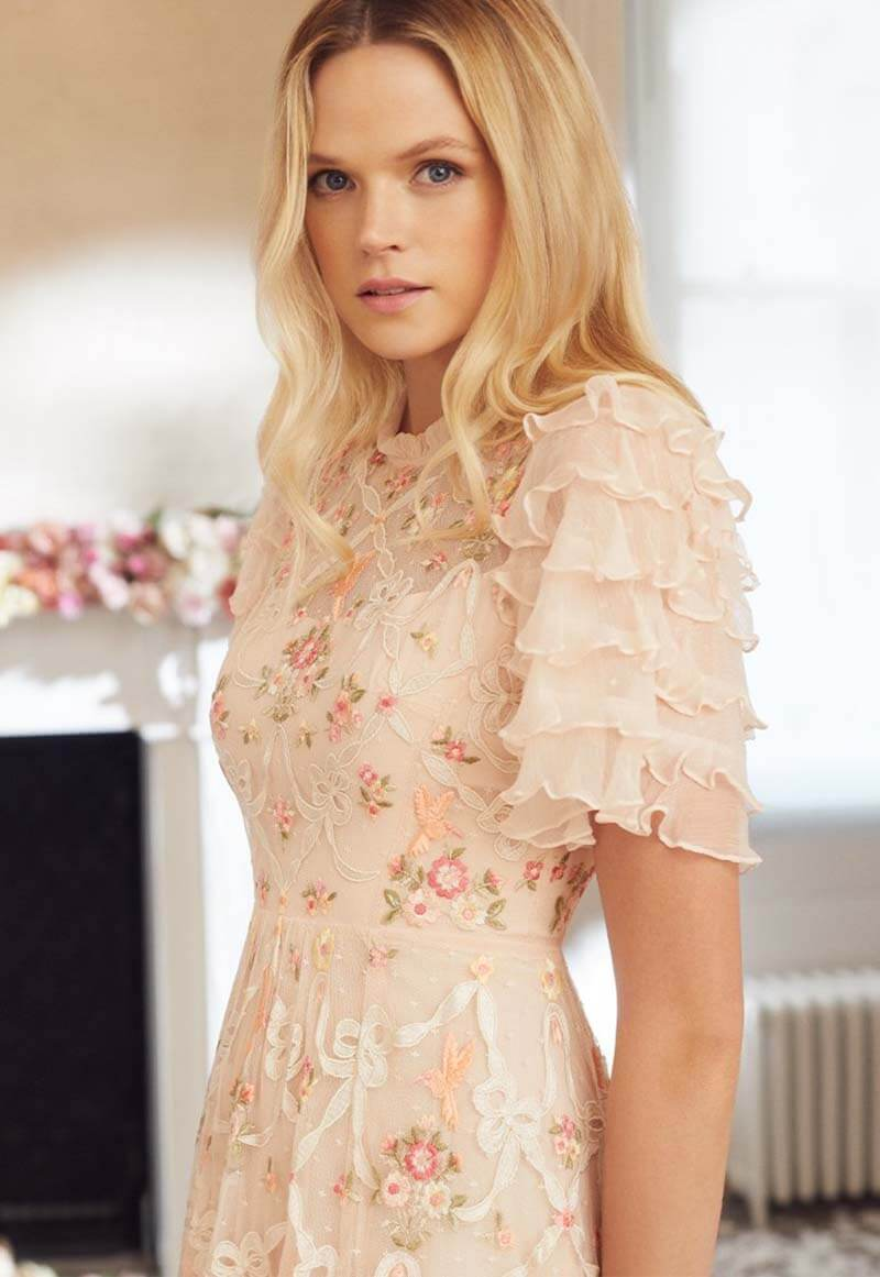 Treat Yourself To The Romantic Styling of Needle & Thread