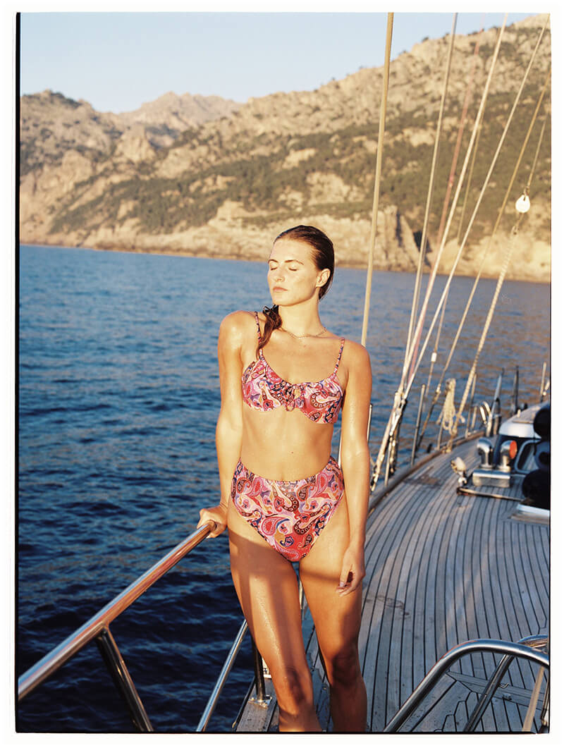 Follow Suit Brings Us Bold, Bright Swimwear For Sunny, Summer Days