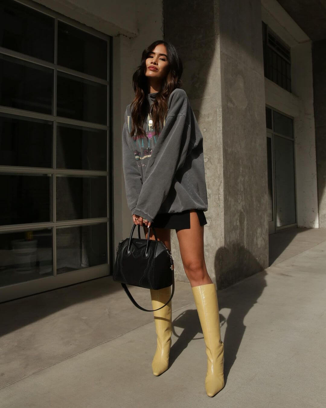 We're Loving This Blogger's Take On Knee High Boots For Summer