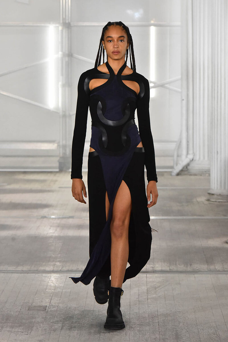 Bold, Daring Designs At Their Best From Dion Lee Fall 21 Collection