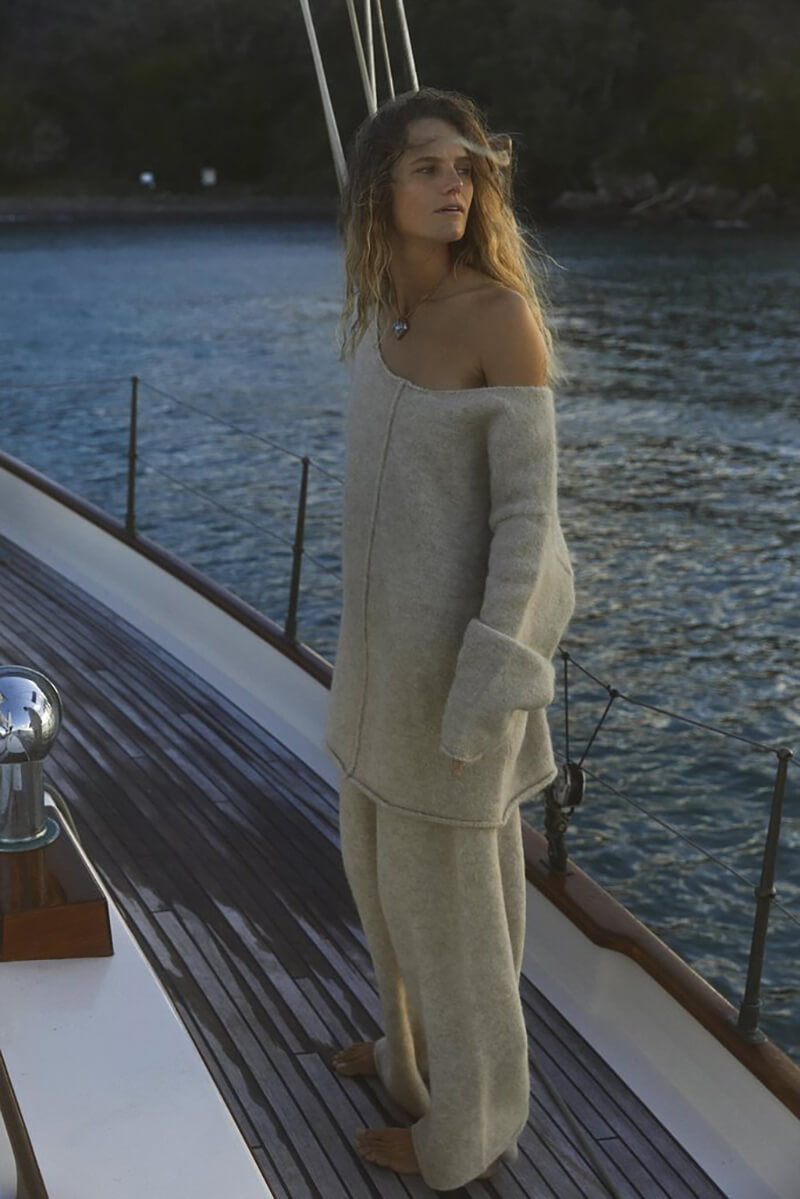 Fall In Love With Chic Loungewear-Inspired Styles From Paris Georgia