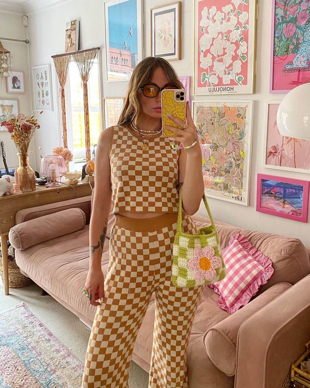 The Checkerboard Print Is Everywhere Right Now