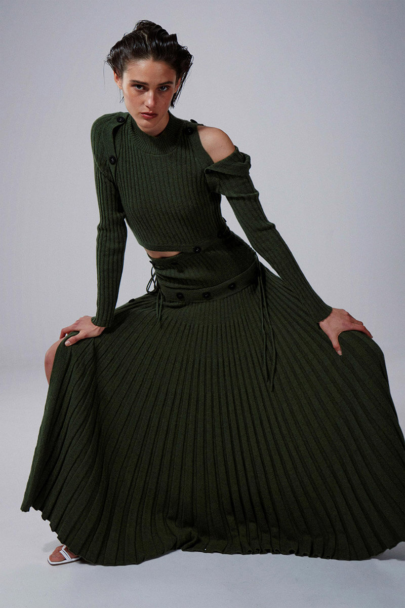 Channel Christopher Esber's Bold, Cool Girl Attitude With The Pre-Fall '21 Collection
