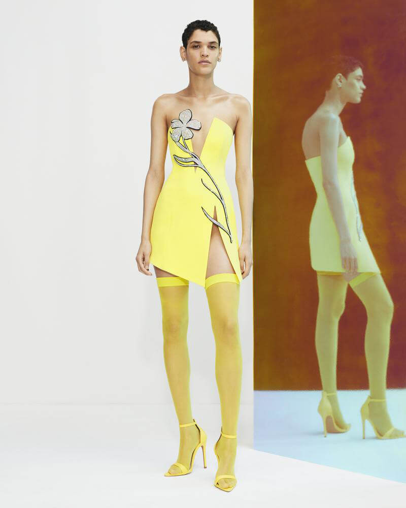 Add A Pop of '70s Inspired Style To Your Wardrobe With David Koma Resort 2022 Collection