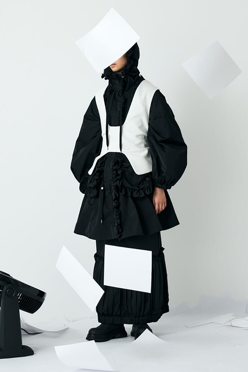 Fresh Take On Fall Fashion – Enfold's Conceptual Layering & Unique Silhouettes