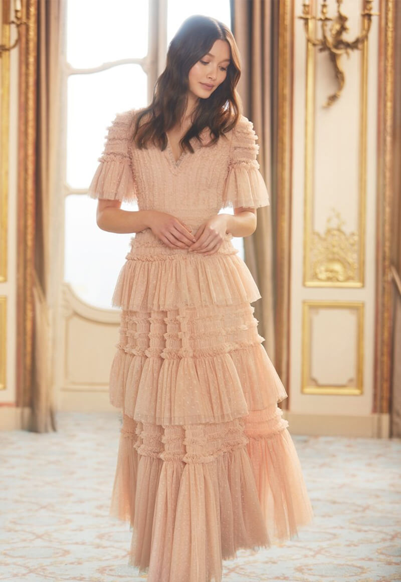 Invite Dreamy Feminine Style Into Your Wardrobe With Needle and Thread