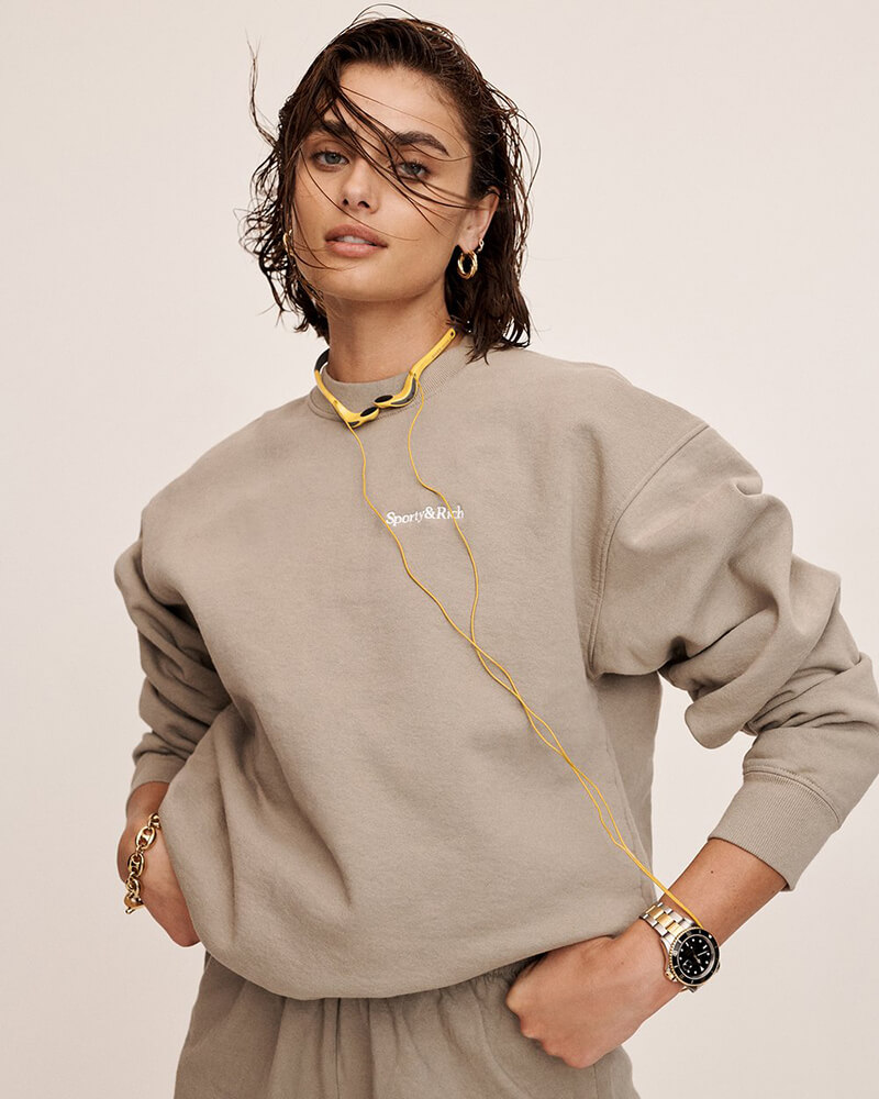 For Elevated Loungewear, You Can Always Look To Sporty and Rich