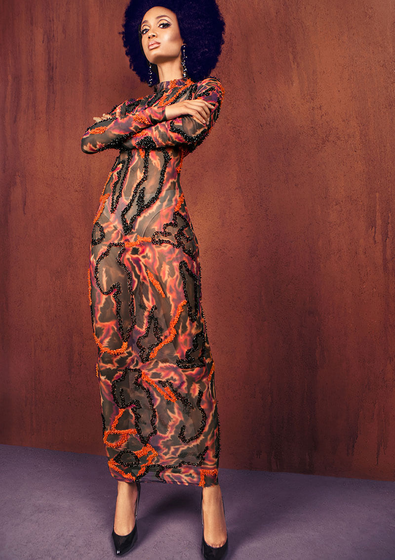 Onalaja Draws Inspiration From Her African Heritage With