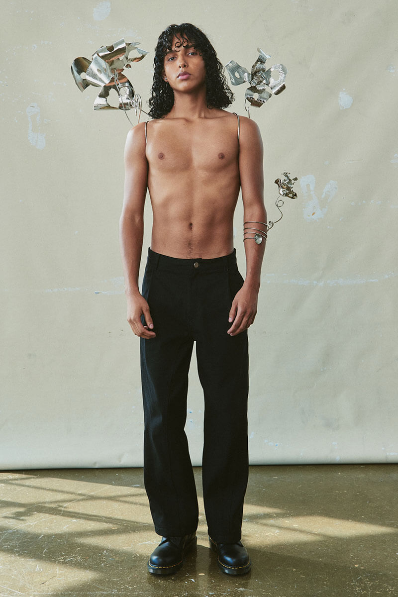 How COVID Restrictions Brought To Life Jungwoo Park's FW21 Collection