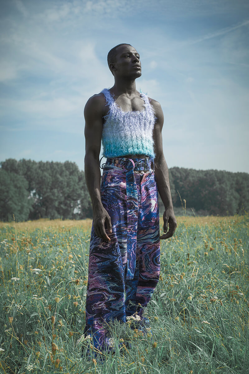 Gender Fluid Styles Re-Imagined For Spring by KA WA KEY