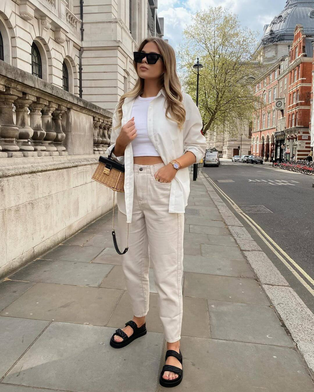 10 Ways to Wear a White Button Down Shirt