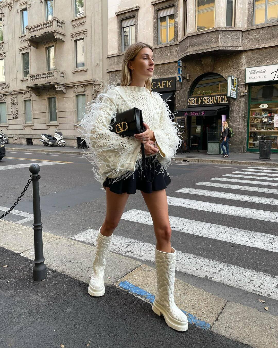 A Fringe Sweater Is Your Solution To Instantly Cool Style