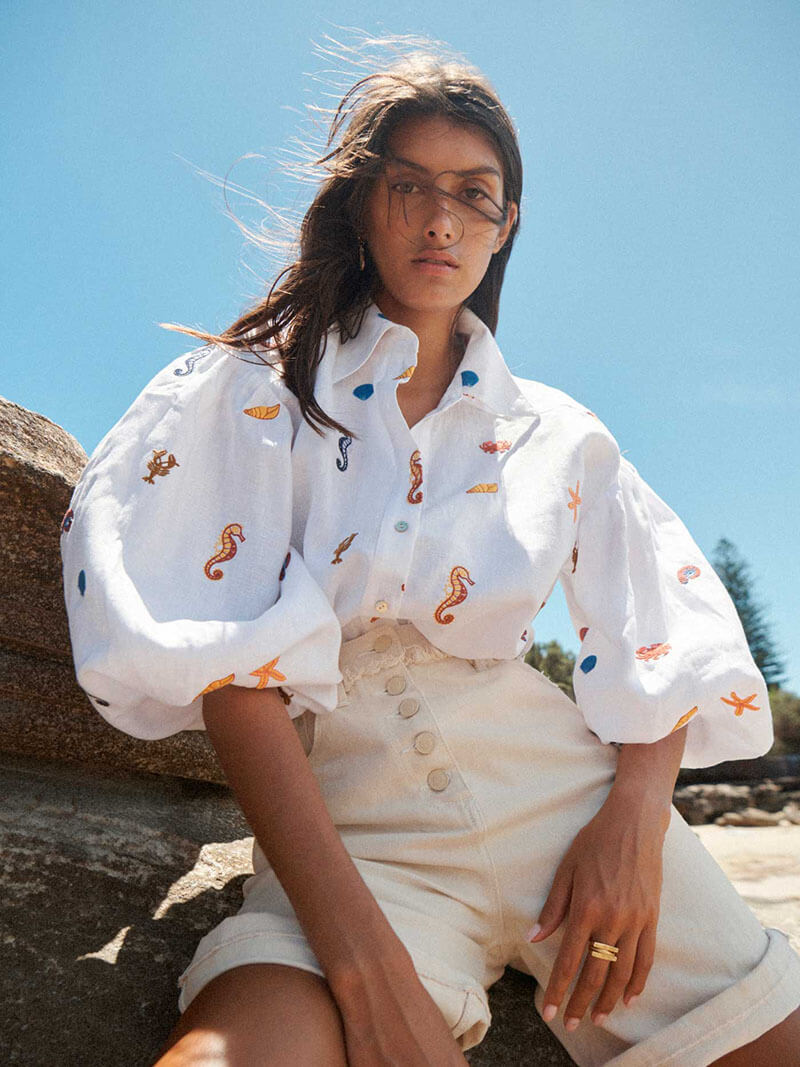 This Sea-Inspired Collection From Alemais Will Blow You Away