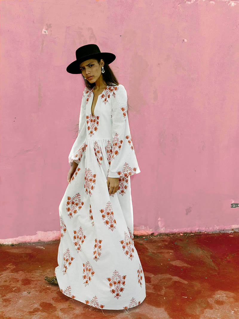 Sophisticated Free-Spirited Style Comes To Life With Alix of Bohemia