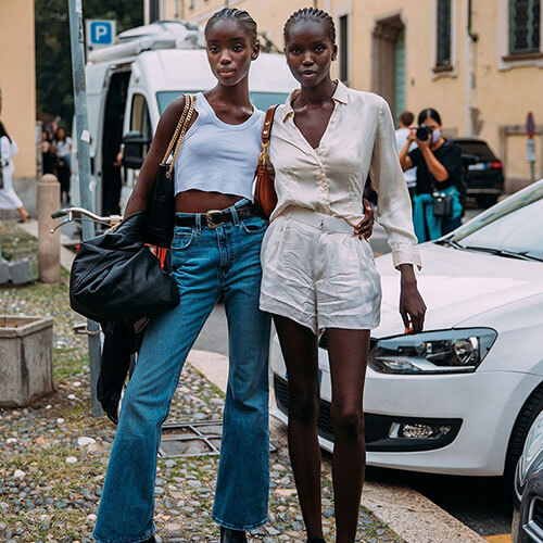 Top 25 Street Style Outfits From Milan Fashion Week Spring 2022