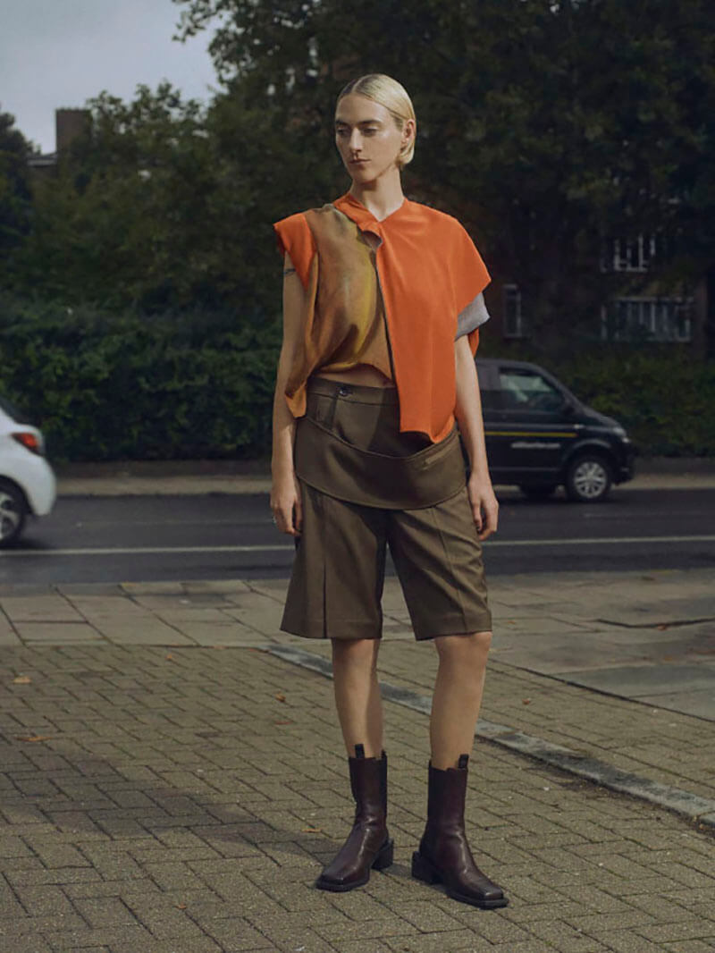 Let Your Emotions Connect With René Scheibenbauer's SS22 Collection