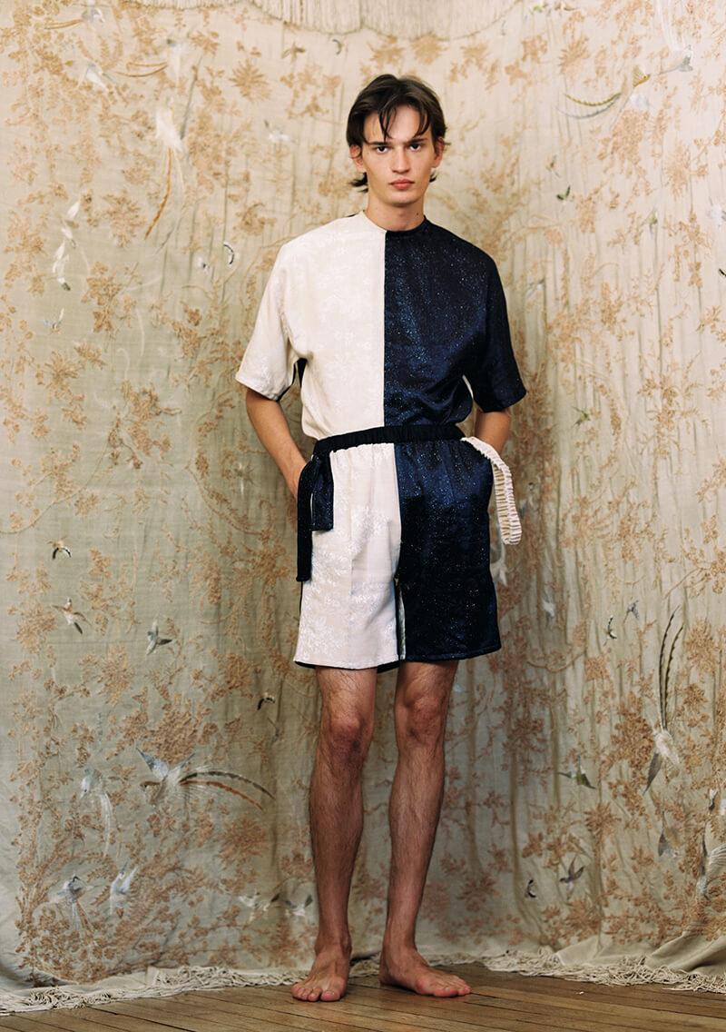 Christoph Rumpf Explores Masculinity & Femininity For SS22