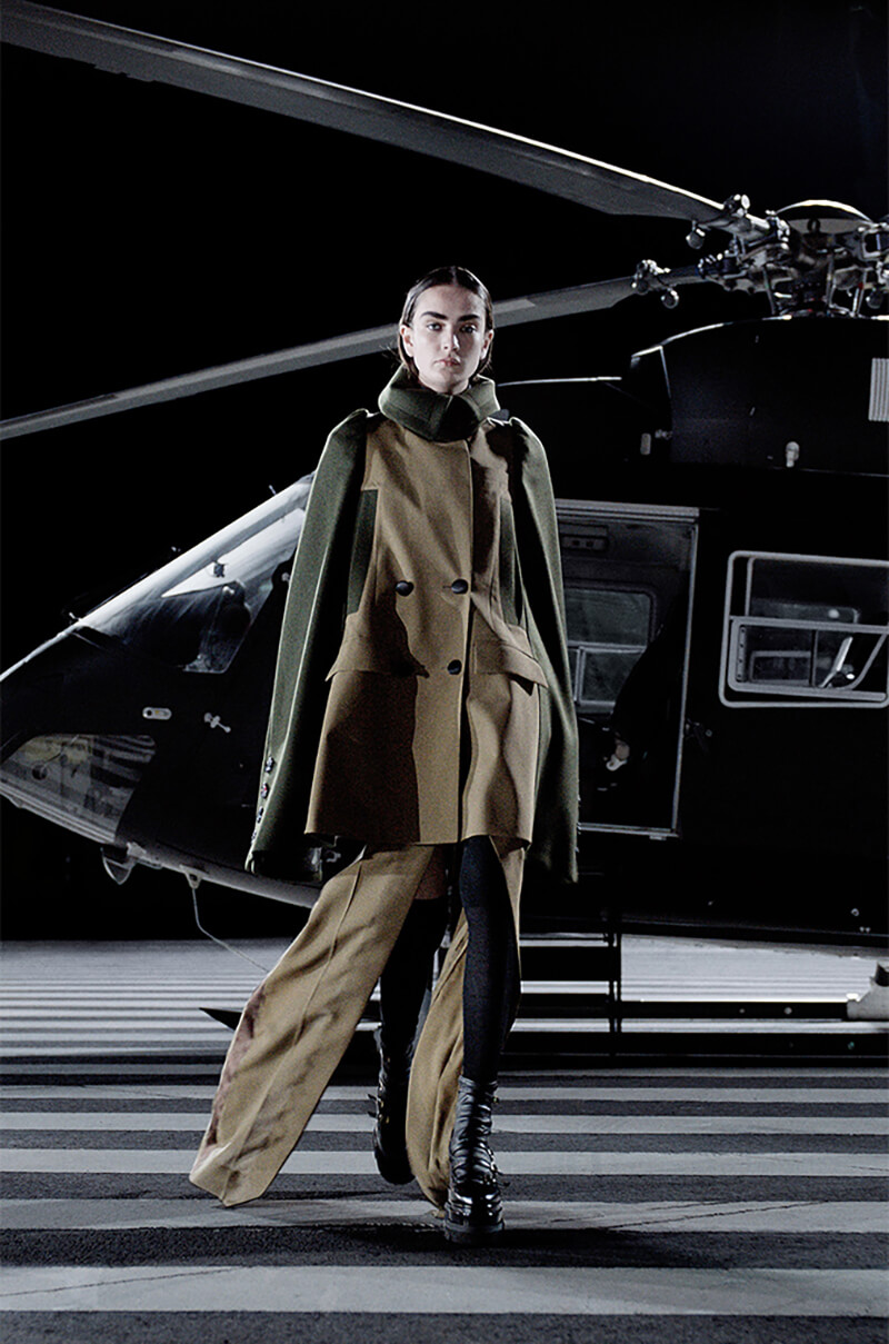 Sacai Keeps Us On Our Toes With This Innovative Collection