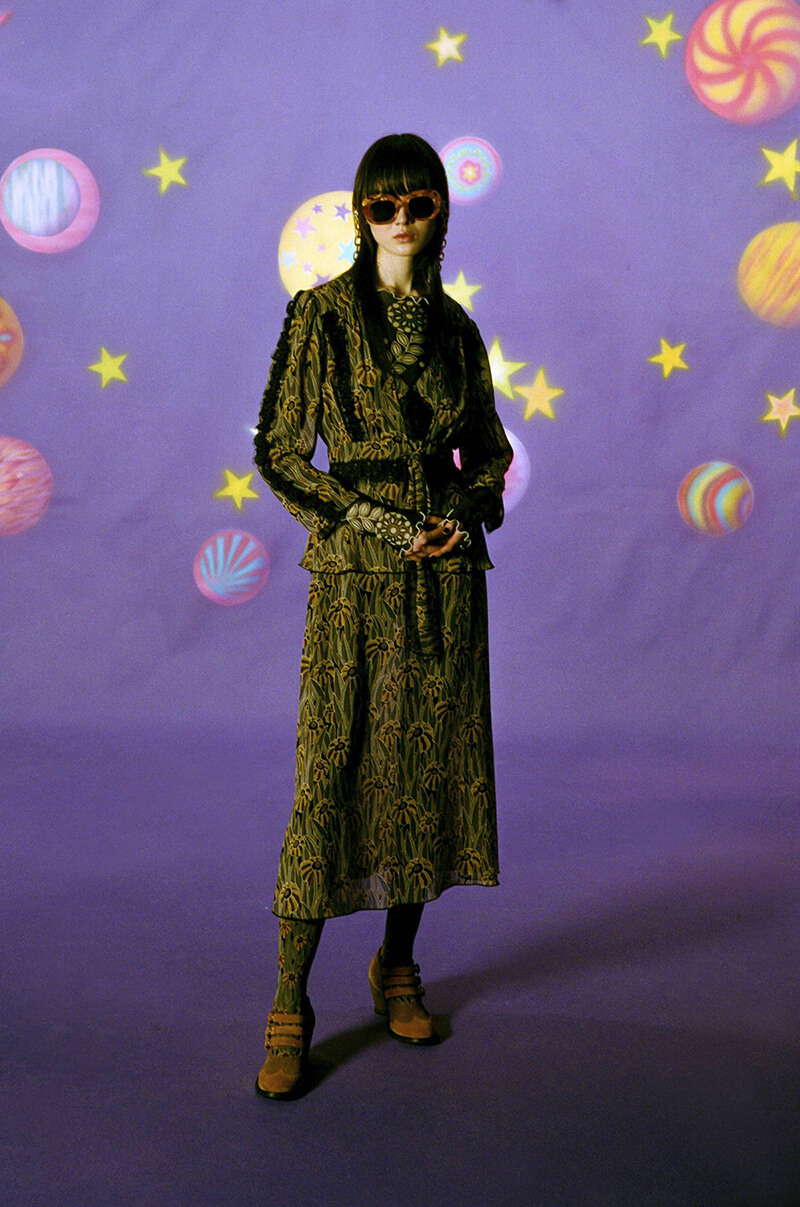 Bring Back Some Feel Good Psychedelic Vibes With Anna Sui's FW21 Collection