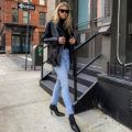 This Outfit Proves That A Moto Jacket Will Never Go Out Of Style