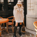 The Coziest Sweater Dress Outfit For Fall & Winter